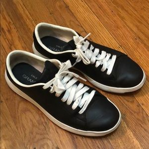 Cole Haan GrandPro Tennis shoes - black leather